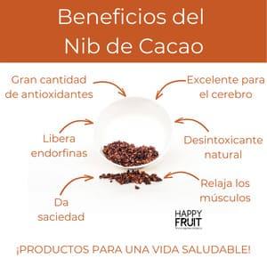 Beneficios de los Nibs de Cacao