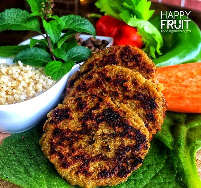 Carne vegetal Finca Happy Fruit