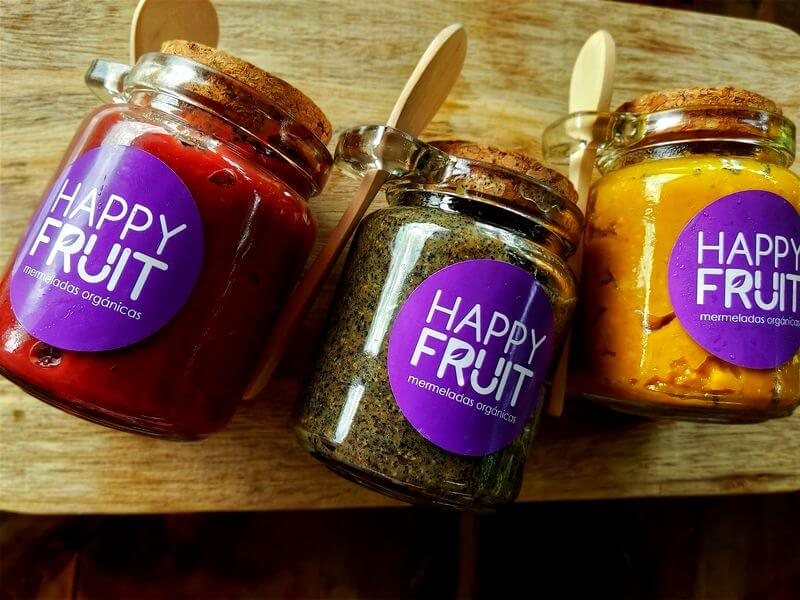 Mermeladas Orgánicas Finca Happy Fruit