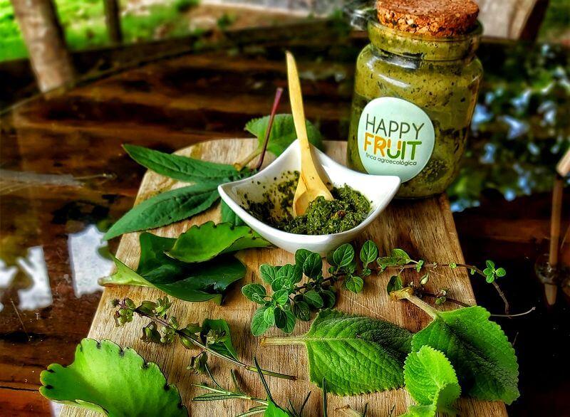 Salsa Pesto Finca Happy Fruit