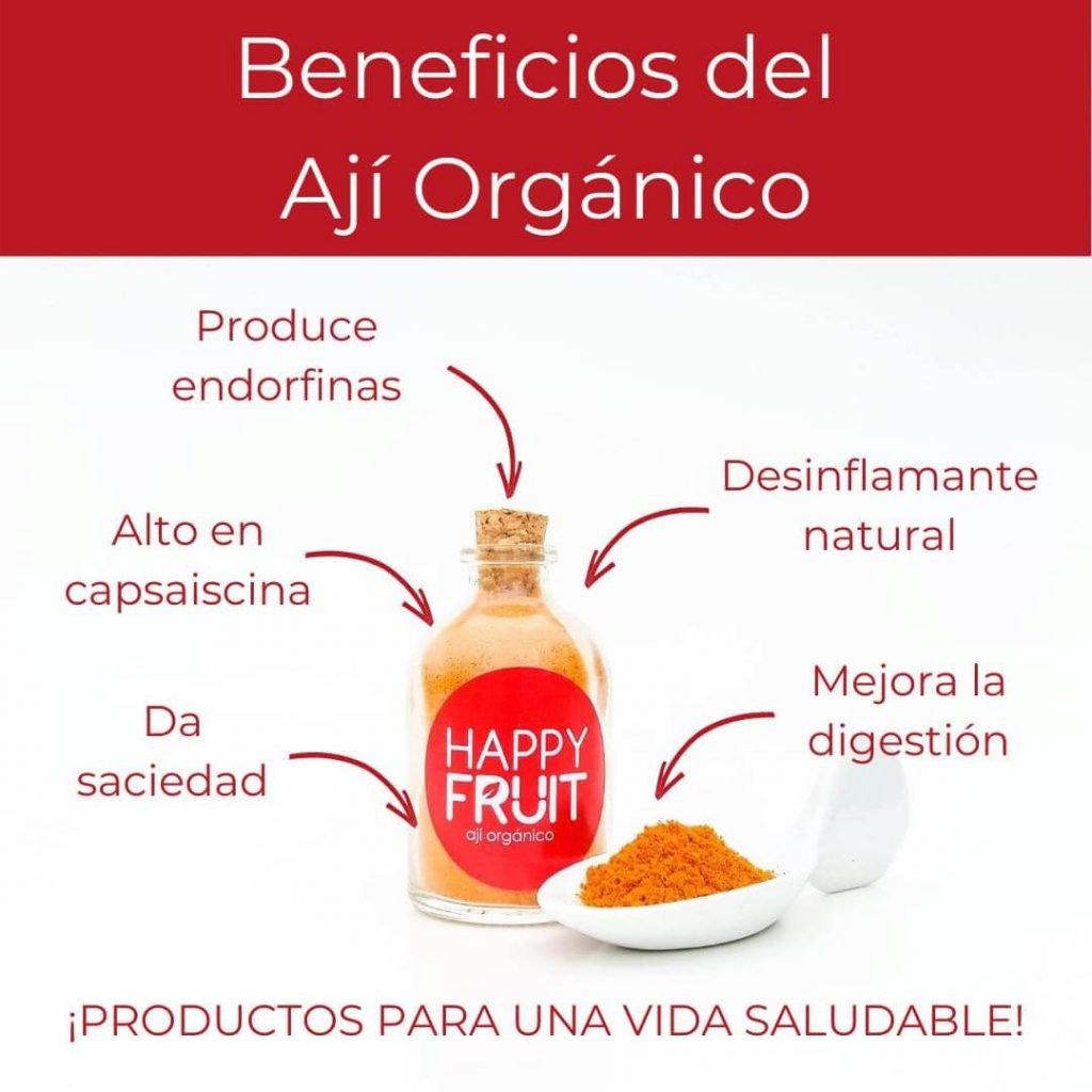 Beneficios Ají Orgánico