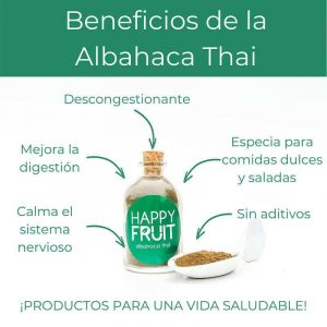 Beneficios Albahaca Thai
