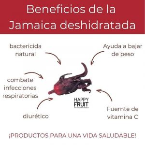 Beneficios Flor de Jamaica Deshidratada