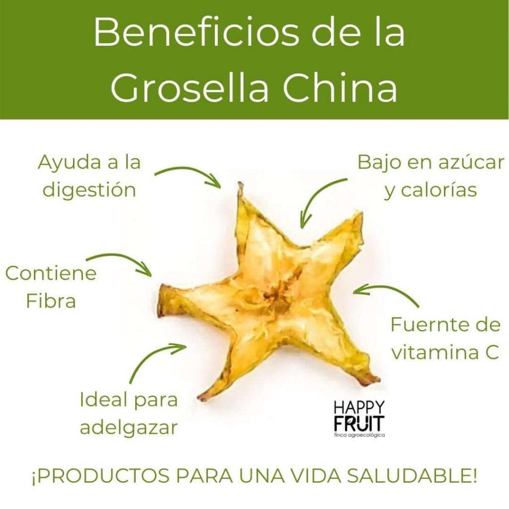 Beneficios Grosella China