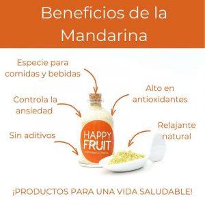 Beneficios Mandarina en Polvo
