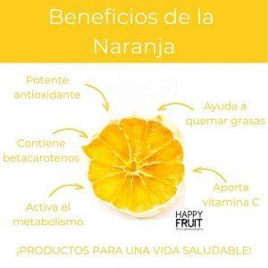 Beneficios Naranja Deshidratada