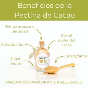 Beneficios de la Pectina de Cacao