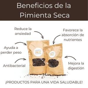 Beneficios de la Pimienta Seca
